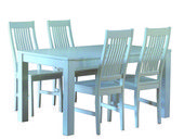 Aino ruokailuryhmä valkoinen   Huonekalut Netistä Kotiisi   Uuttakotiin.fi Outdoor Furniture Sets, Outdoor Decor, Dining Chairs, Table, Home Decor, Decoration Home, Room Decor, Dining Chair, Tables