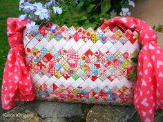 Origami die Kunst des Papierfaltens: Origami Candywrapper Bag