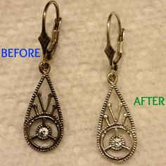 Friday's Focus On: Cleaning Tarnished Jewelry {DIY}   cutedogsandhugs