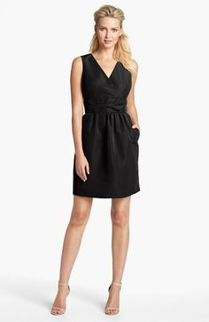 Taylor Dresses Taffeta Sheath Dress available at #Nordstrom