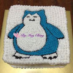 Pokemon Snorlax Cake