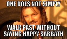 I'm an SDA/Adventist (Sabbath worshiping Christian). This tickled me… by a Facebook friend via http://www.facebook.com/pages/SDA-Memes/285228131558029