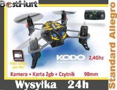 Dron KODO Quadrocopter KAMERA   2gb, 2.4GHz Led
