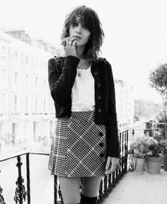 Alexa Chung | I wish that I were good looking and smart more than anything else in this world.