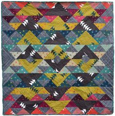 Yuma quilt -- a FREE quilt pattern from gothamquilts.com