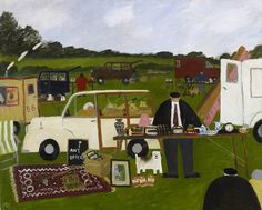 Gary Bunt | The Car Boot Sale - She's been nagging me all morning So I've locked her in the car But I think she's putting the punters off I haven't sold a thing so far