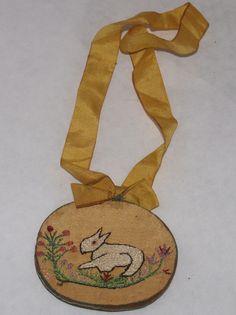 A FOLK ART PIN CUSHION. | eBay!
