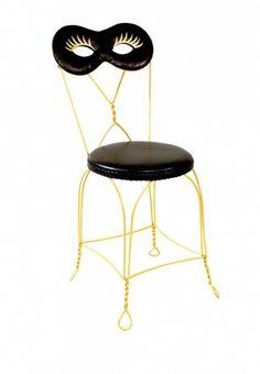 HOME COLLECTION: MOSCHINO La sedia Maschera di Moschino Loves Altreforme.