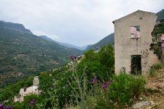 The ghost town of old-Gairo, Ogliastra, Sardinia #enjoyogliastra