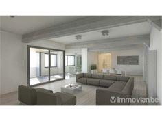 Woonkamer indeling op pinterest ploetert verf slaapkamer meubels plaatsen en woonkamer lay outs - Eigentijds rechthoek huis ...