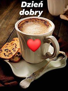 Chocolate Coffee, Dory, Coffee Time, Good Morning, Tableware, Desserts, Humor, Impreza, Hearts