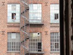 Industriecharme alter Fabriken #Leipzig #Baumwollspinnerei #Spinnerei #LeipzigerSchule #Kunst #Art