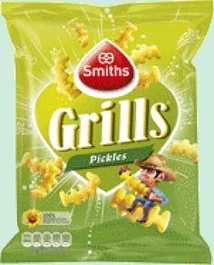 SMITHS Grills Pickles 125g www.chockies.net