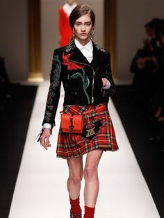 Highland fling: Comeback of the kilt