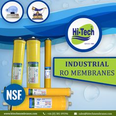 Leading supplier of Industrial ro membrane. http://www.hitechmembranes.com/product-category/industrial-ro-membrane/