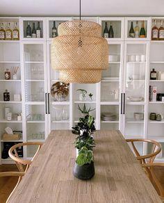 Ikea Dining Room, Dining Room Storage, Dining Room Design, Ikea Billy Bookcase White, Ikea Bookcase, Billy Bookcases, Bookcase Storage, Tv Storage, Living Room Hacks