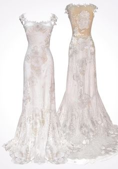Claire Pettibone 'ORANGE BLOSSOM' wedding gown