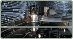 I love back splashes! We're doing this in our future kitchen :)