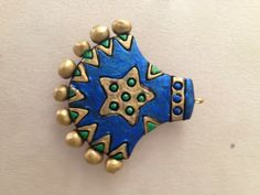 Blue pendant for dear sis :)