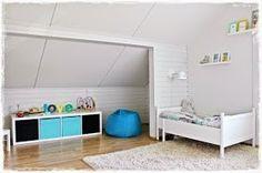Matala katto makuuhuone lastenhuone vinokatto