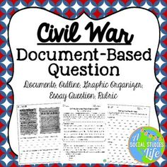 sectionalism comparing the north and south before the civil war  civil war dbq essay