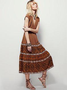Bella Notte Printed Dress