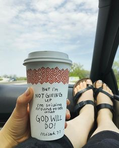 But I'm not giving up. I'm sticking around to see what God will do. Micah 7:7 (msg) CHRISTIAN YOUTUBER: Coffee and Bible Time