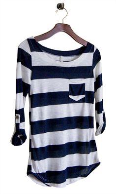 Esprit Pullover Otto Stripe blau | Dress for less