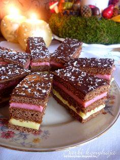 Barbi konyhája: Zebrakocka Hungarian Desserts, Breakfast Dessert, Winter Food, Afternoon Tea, Tiramisu, Waffles, Recipies, Cheesecake, Deserts