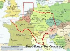 Funny pictures about Texas-Europe Size Comparison. Oh, and cool pics about Texas-Europe Size Comparison. Also, Texas-Europe Size Comparison photos. Size Of Texas, Only In Texas, How Big Is Texas, Bonn Germany, Texas Forever, Loving Texas, Texas Pride, Mejor Gif, Texas History