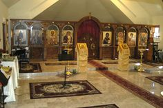 Iconostasis at St. Nicholas Orthodox Church
