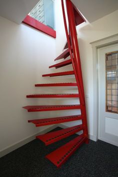 EeStairs is renowned for bespoke design, but did you know that we have a compact standard staircase available for limited space locations? The by EeStairs® is designed to suit situations where space is at a premium, such access to a loft room. Standard Staircase, Spiral Staircase, Staircase Ideas, Attic Stairs, House Stairs, Wood Stairs, Home Stairs Design, House Design, Stair Design