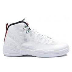 premium selection c2249 02f78 130690-163 Air Jordan Retro 12 (XII) Rising Sun White Black Varsity Red