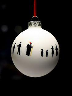 "Christmas Bauble ""Little People"""