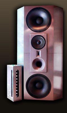 Lenard Audio Opals, 4 way active speaker System