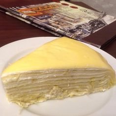 Durian Crepe Cake @記得吃 Ji De Chi Waterway Point