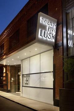 Twenty Five Lusk, a lounge and restaurant in San Francisco's South of Market neighborhood