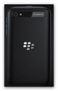 Blackberry Classic Smartphone von hinten