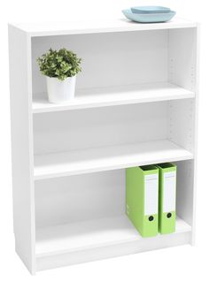 Office Supplies, Stationery & Office Furniture at the Lowest Prices 3 Shelf Bookcase, Bookshelves, Bookcase White, Office Setup, Office Storage, Office Ideas, My Workspace, Expensive Houses, Home Office Furniture