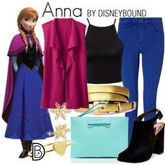 Anna by leslieakay on Polyvore featuring NLY Trend, TravelSmith, Maison Scotch, Steve Madden, Kate Spade, Bling Jewelry, Jennifer Meyer Jewelry, disney and disneybound
