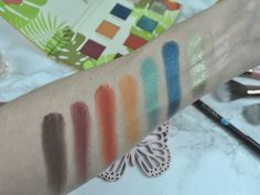 Boxycharm Alamar Cosmetics Reina Del Caribe Vol. Makeup Swatches, Cosmetics, Beauty, Makeup Samples, Beauty Products, Cosmetology, Drugstore Makeup
