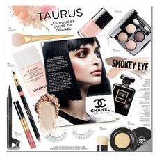 """Taurus Beauty"" by justlovedesign ❤ liked on Polyvore featuring beauty, Napoleon Perdis, Chanel, Topshop and BeautyHoroscope"