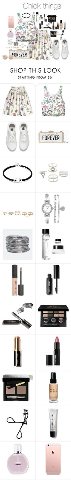 """""""untitled120."""" by hsmklau ❤ liked on Polyvore featuring Vans, Kate Spade, Charlotte Russe, LULUS, Anne Klein, Avenue, Bobbi Brown Cosmetics, Chanel and Christian Dior"""