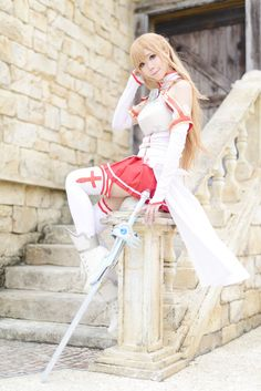 Sword Art ONline Asuna Cosplay Photo - WorldCosplay