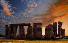 En Stonehenge también hay monolitos debajo de la tierra