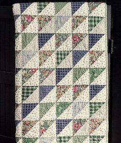 Gorgeous scrappy quilt