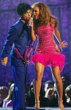 Prince and Beyonce, one of the best on the Grammys