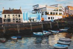 The Harbour Bar - Paintings