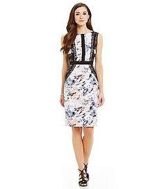 f50ae11f165 Antonio Melani Hotaru Printed Sheath Dress Casual Dresses For Women