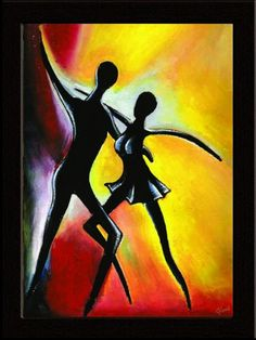 Gloob presents a stylish, creative painting of a 'Salsa Couple' to grace your homes!     This lovely painting is available on  http://www.gloob.in/painting/salsa-couple.html
